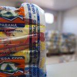 Guaraci é contemplado com cem cestas básicas doadas pela Defesa Civil
